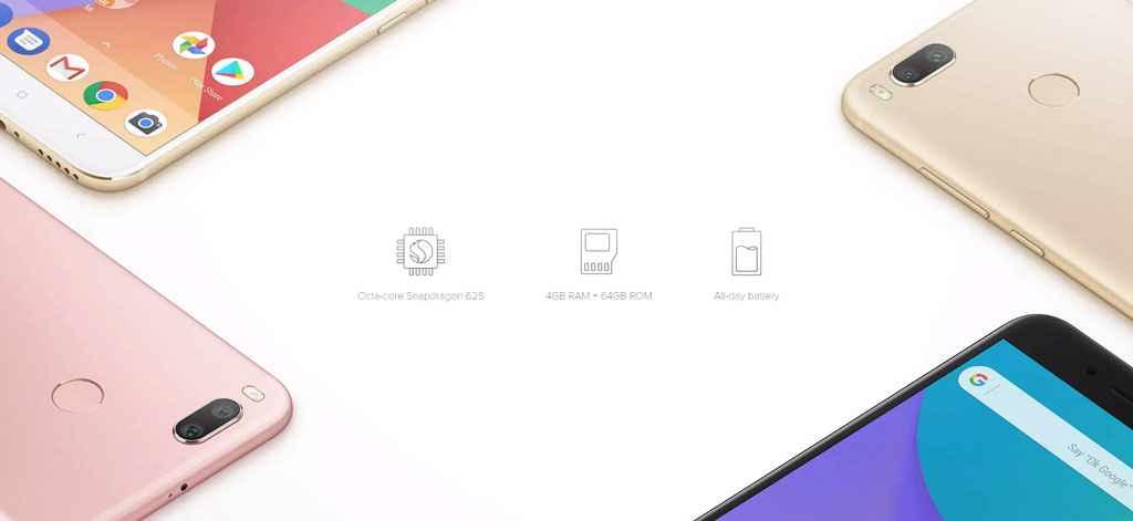 گوشی شیائومی می ای وان-Xiaomi Mi A1
