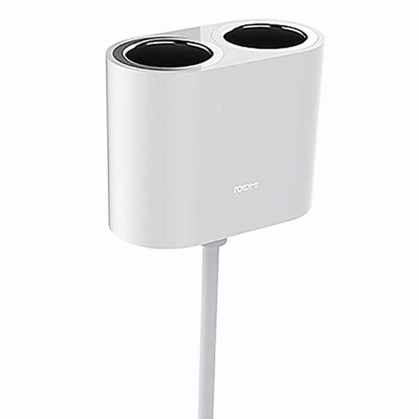 Xiaomi Roidmi Car Dual Cigarette Lighter Charger Adapter,آداپتور دو راهی شارژر فندکی- شیائومی